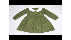 Шьем военное платье для девочки