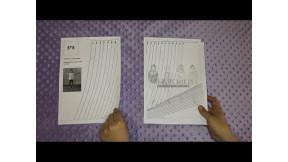 Как склеить готовую выкройку и перенести ее на ткань