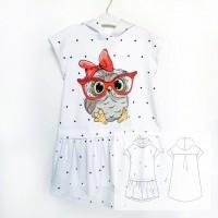 Детское платье «OWL»