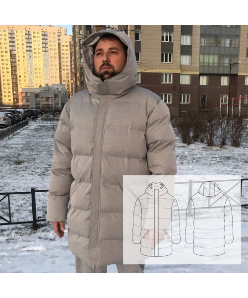 "Пуховик ""МЕДВЕДЬ"""