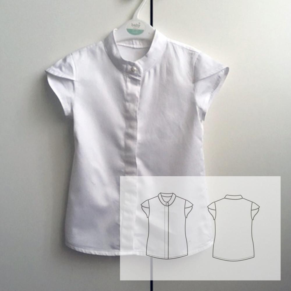 """Блуза """"Тюльпан"""""""