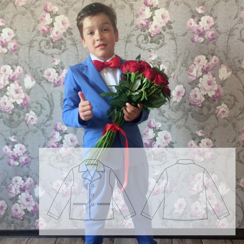 Трикотажный пиджак Даниил