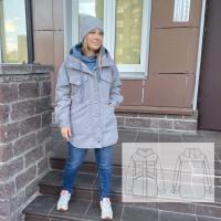 Женская куртка рубашка WOW